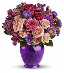 Photo of Teleflora's Purple Medley - TEV04-3
