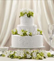 Photo of The FTD Bloom & Blossom Cake Décor - W11-4647