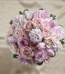 Photo of The FTD Dawn Rose Bouquet - W15-4653