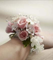Photo of The FTD Pure Grace Wrist Corsage - W15-4657