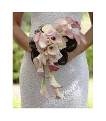 Photo of The FTD Pink Cascade Bouquet - W16-4655