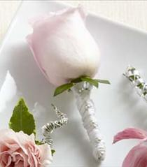 Photo of The FTD Pink Rose Boutonniere - W17-4662