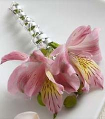 Photo of The FTD Pink Peruvian Lily Boutonniere - W17-4663