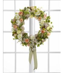 Photo of The FTD Garden Splendor Wreath - W32-4704