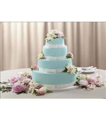 Photo of The FTD Infinite Love Cake Décor - W33-4707