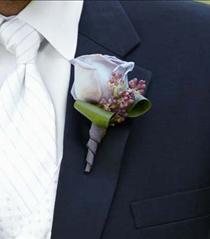 Photo of The FTD Nottingham Boutonniere - W35-4771