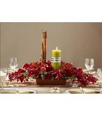 Photo of The FTD Dramatic Garden Centerpiece - W49-4743