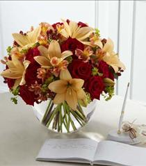 Photo of The FTD Lily & Rose Arrangement - W49-4744
