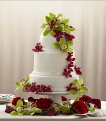 Photo of The FTD Elegant Orchid Cake Décor - W57-4765