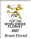 FTD TOP 100 Florist Logo 2007