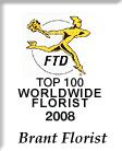 FTD TOP 100 Florist Logo 2008