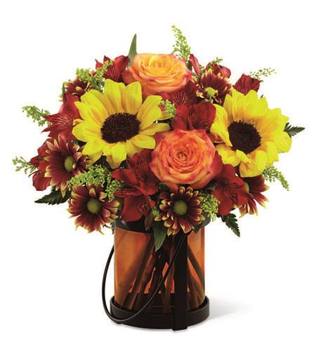 Giving thanks bouquet fall autumn centerpieces catalog