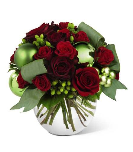 The ftd holiday bliss bouquet christmas centerpieces