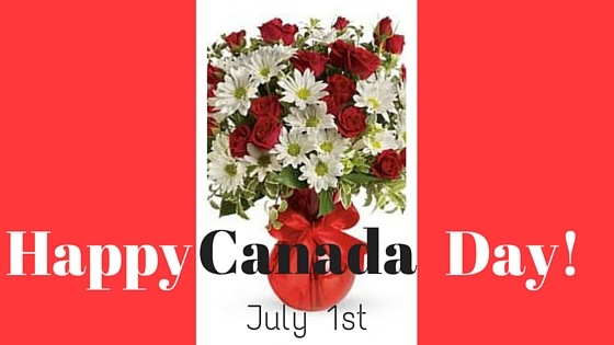 Happy Canada Day Brant Florist