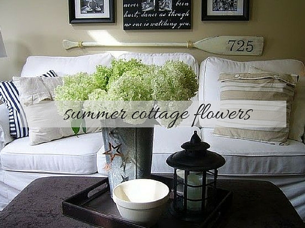 Summer Cottage Flowers