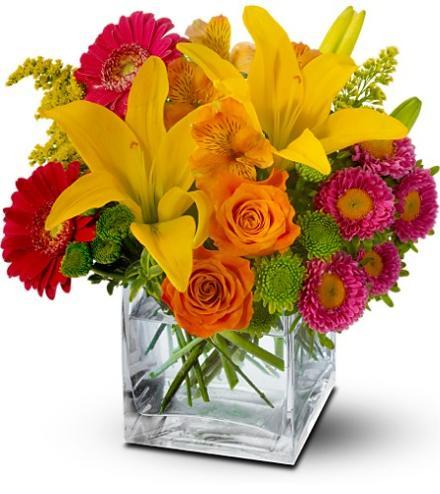 Our Favourite Summer Flowers Colour Splash Time Bouquet