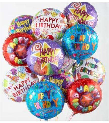 Birthday Balloons and Bears