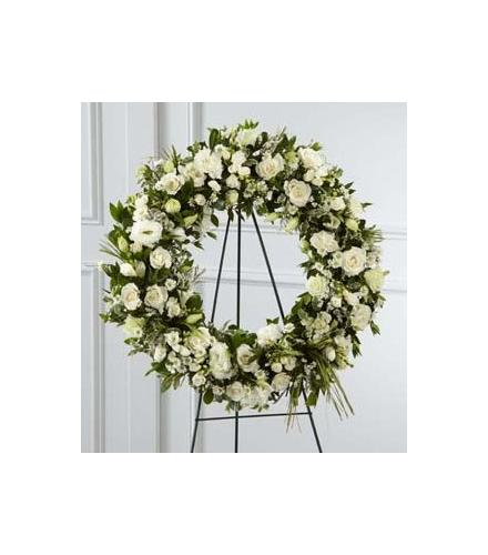 Wreaths Floral on Easel