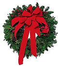 Photo of a Christmas Wreath