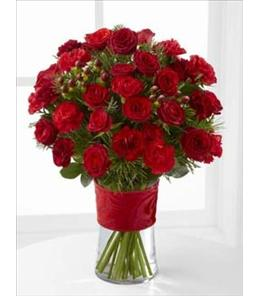 Photo of The FTD Spirit of the Season Bouquet - B10-4787