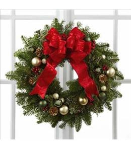 Photo of Winter Wonders Wreath by FTD - B11-4831