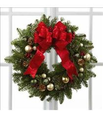 Photo of Winter Wonders Wreath by FTD - B11-4831