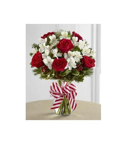 Photo of flowers: Holiday Enchantment Vase FTD
