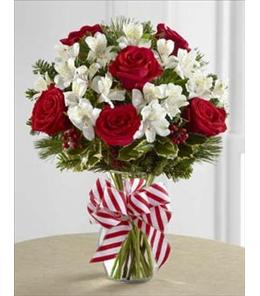 Photo of Holiday Enchantment Vase FTD - B13-4834