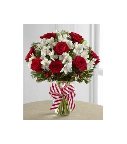 Photo of flowers: Holiday Enchantment Vase