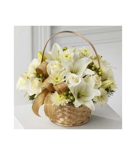 Photo of flowers: White Wishes Bouquet