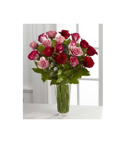 Photo of BF7156/B19-4387d (18 Roses Vased)