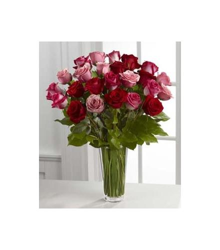 Photo of flowers: True Romance Rose Vase