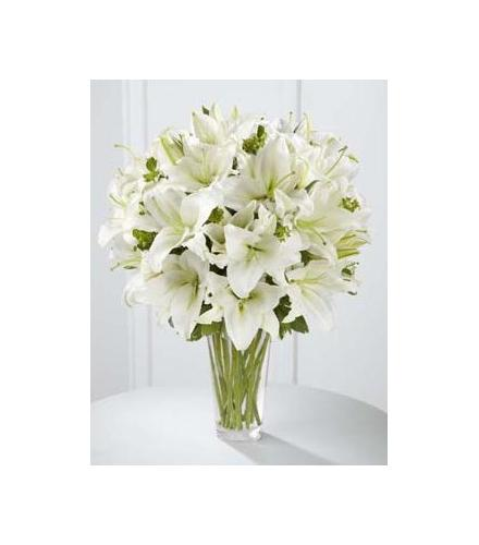 Photo of flowers: The Spirited Grace Lily Bouquet