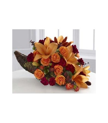 Photo of flowers: The FTD Harvest Home Cornucopia