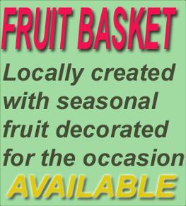 Photo of flowers: Fruit Basket