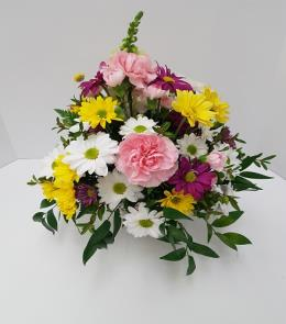 Photo of Warm Colors Fresh Bouquet - BF1212