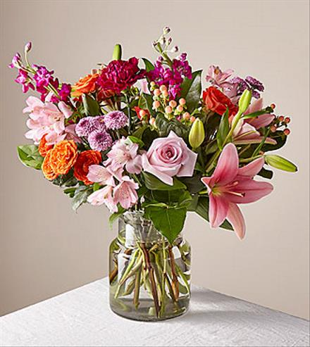 Photo of flowers: Floral Hearts Bouquet