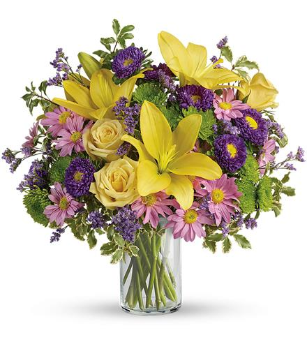 Photo of flowers: Fresh And Fabulous Bouquet