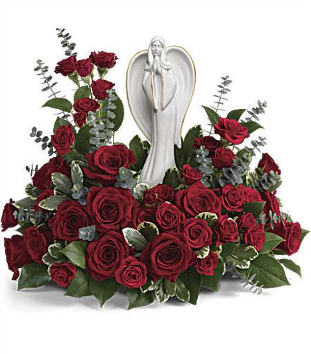 Photo of flowers: Forever Our Angel Bouquet