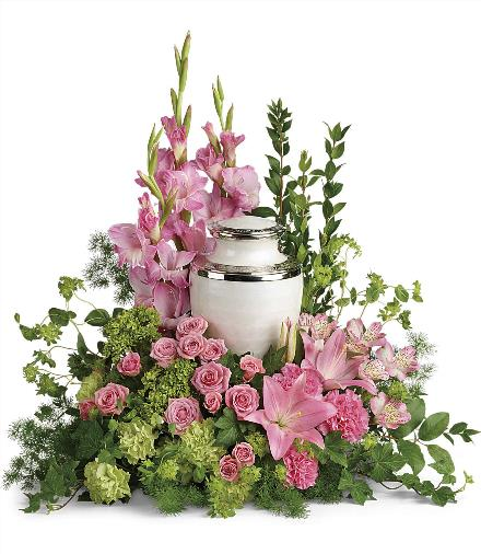 Photo of flowers: Sacred Solace Cremation Tribute
