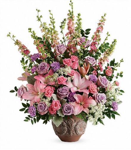 Photo of flowers: Soft Blush Bouquet T279-3