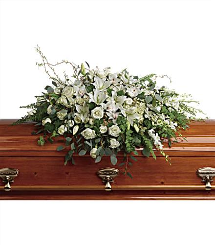 Photo of flowers: Grandest Glory Casket Spray
