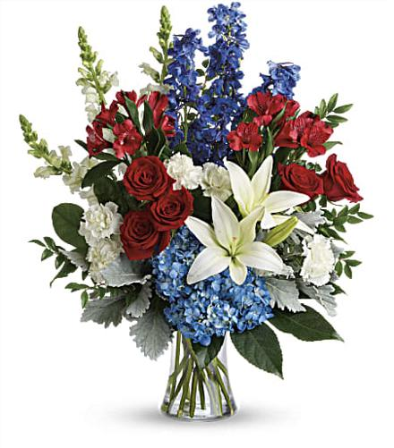Photo of flowers: Colorful Tribute Bouquet T282-2
