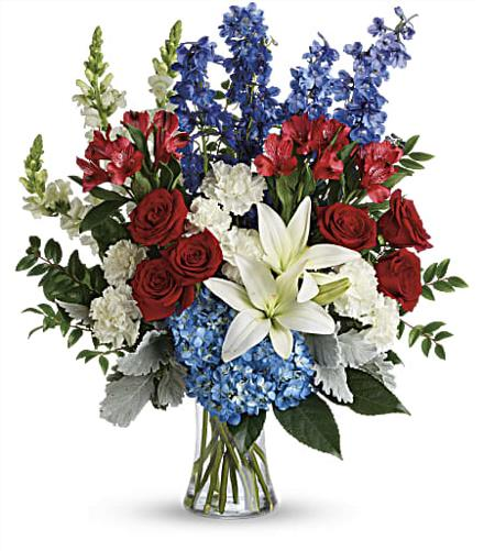 Photo of flowers: Colorful Tribute Bouquet
