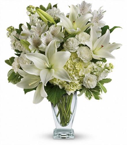 Photo of flowers: Purest Love Bouquet TEV30-2