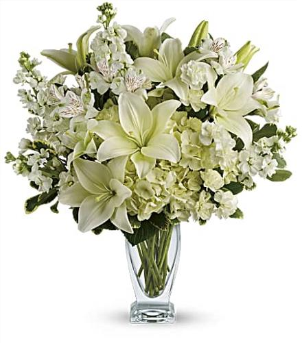 Photo of flowers: Purest Love Bouquet