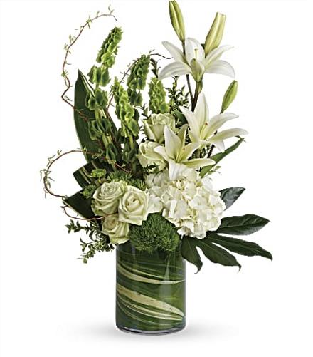 Photo of flowers: Botanical Beauty Bouquet T283-4