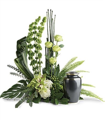 Photo of flowers: Tranquil Peace Cremation Tribute