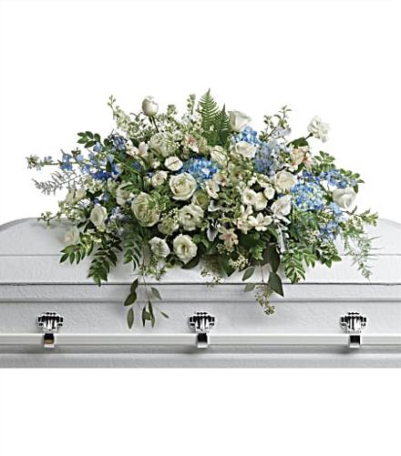 Photo of flowers: Tender Remembrance Casket Spray