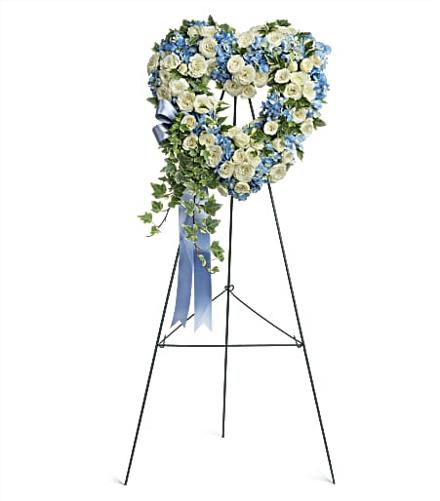 Photo of flowers: Pure Heart on Easel